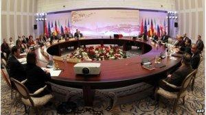 Kazakhstan meeting on Iran nuclear prog