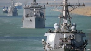 US warships are in the Middle East, but no orders for deployment have been given