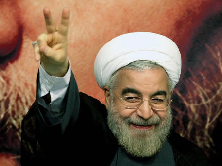https://defendingiraniandemocracy.files.wordpress.com/2013/10/hassan-rohani-netanyahu-laughing.jpg?w=456