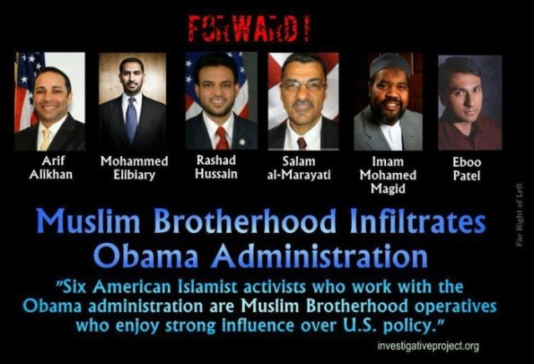 Muslim Brotherhood infiltrates Obama Admin