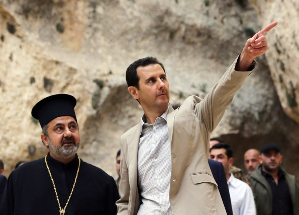 SYRIA-CONFLICT-MAALULA-ASSAD