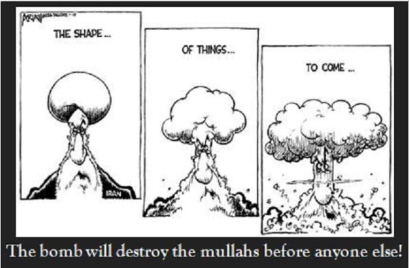 bomb Mullahs