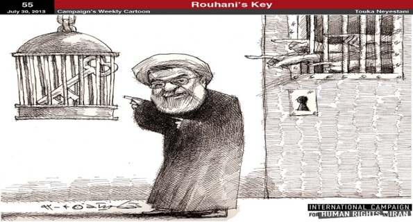rouhani behind the human-rights mask