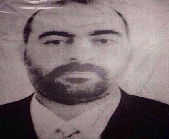 Undated file picture released Jan. 29, 2014, by the official Web site of Iraq's Interior Ministry claiming to show Abu Bakr al-Baghdadi, the head of the so-called Islamic State of Iraq and Syria.