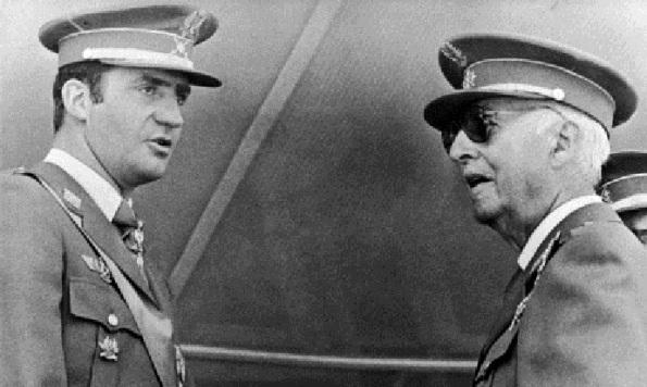 General Franco And Juan Carlos 1975