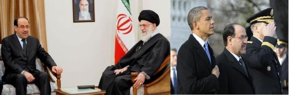 Obama-Maliki-Khamenei