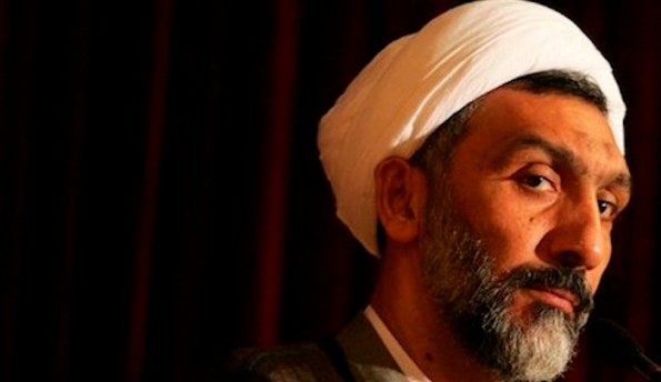 Criminal Mostafa Pour Mohammadi, known as the minister of death, who has had direct participation in murdering thousands of political prisoners in Iran