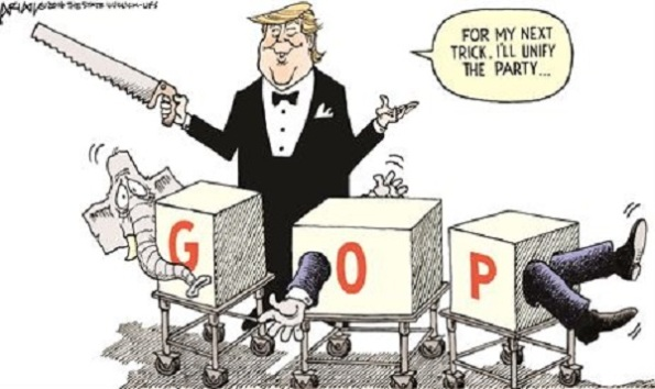 Trump unifying gop
